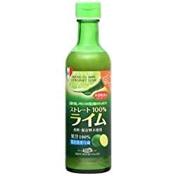 さぁ、メキシコ産ライム果汁290ml ストレート100%果汁 香料・保存料不使用へ